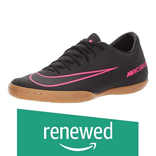 Renewed  Nike Men's Mercurial Victory VI IC Indoor Soccer Shoe  8 D M  US, Black/Pink