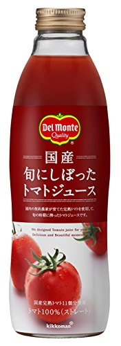 750mlX6 this tomato juice was squeezed to Del Monte domestic season by Del Monte