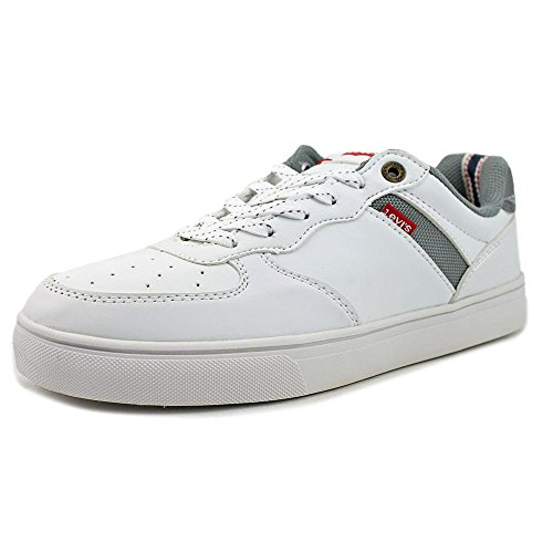 New Levi's Mens Jeffrey Core Pu White Fashion Shoes 8
