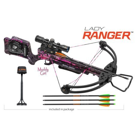 Wicked Ridge by TenPoint Crossbows Lady Ranger Crossbow Package with ACU-52 Cocking Mechanism