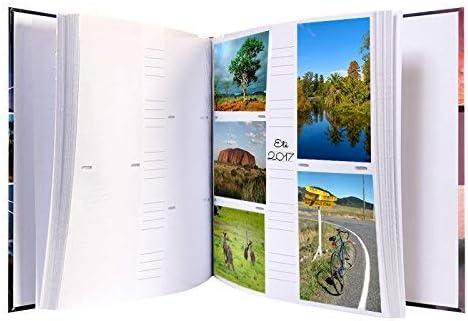 Orange LCD Album Photo /à Pochettes VEO pour 500 Photos 10x15 cm,