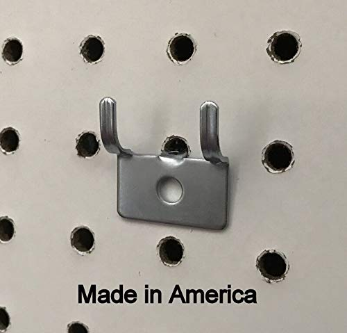 (250 PACK) Picture Notch Utility 'J' Peg Hook. For 1/8 to 1/4'' Pegboard w/Screws by STRIKE (Image #1)