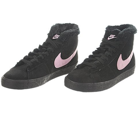 Nike Kids NIKE BLAZER BOOT (PS) BOOTS 3 (BLACK/PERFECT PINK)