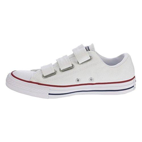 Converse Para Mujer Chuck Taylor All Star 3v Buey Informal Zapato Blanco Insignia Azul Granate