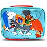 Tom and Jerry Children's Lunch Box 25cm x 20cm blue / red