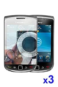 Blackberry Torch 9800 Mirror Reflect Screen Protector 3 Pack