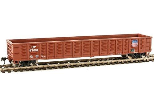 53' Corrugated-Side Gondola - Ready To Run -- Union Pacific(R) #97018 (Boxcar Red) ()