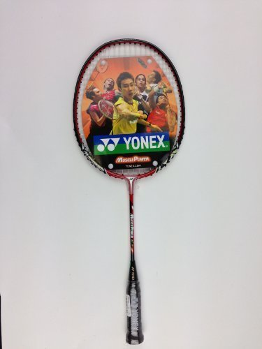 Yonex Muscle Power 2 Junior Badminton Racquet (Red) (21 inches)