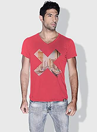 Creo Dxb X City Love T-Shirts For Men - M, Pink