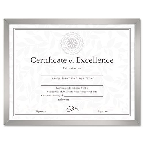 DAXN17002N - Value U-Channel Document Frame w/Certificates by (Dax Hanging Certificate Frame)