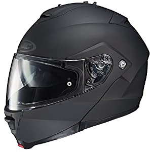 HJC 980-614 IS-MAX II Modular Motorcycle Helmet (Matte Black, Large)