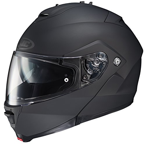HJC 980-614 IS-MAX II Modular Motorcycle Helmet (Matte Black, Large) Domain Cheek Pads