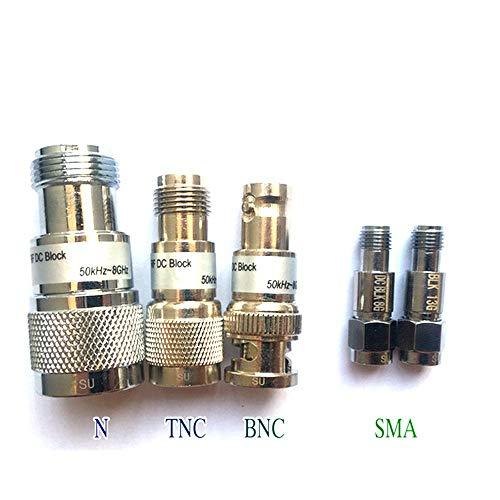2W RF DC-Block,Connector Include SMA-MF,N-MF,BNC-MF,TNC-MF,(RP) SMA-MF (TNC-MF(50KHz-8GHz))