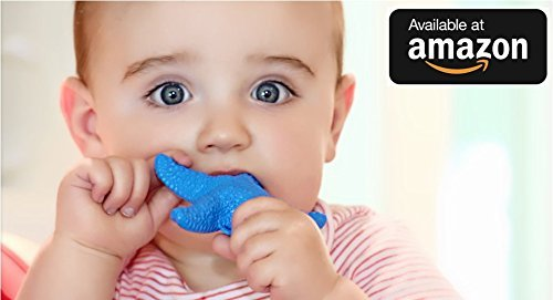 WowieStar - USA FDA Certified Medical Grade Silicone Baby Teether, Teething toy - Caribbean Blue, Reduce Tooth Ache, Massage Sore Gums, Perfect Baby Gift, Baby Shower Gift, Made in USA, fun bath toy (Made In Usa Baby Toys compare prices)