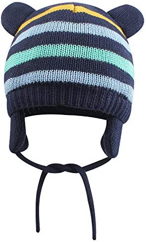 XIAOHAWANG Toddler Earflap Beanie Winter product image