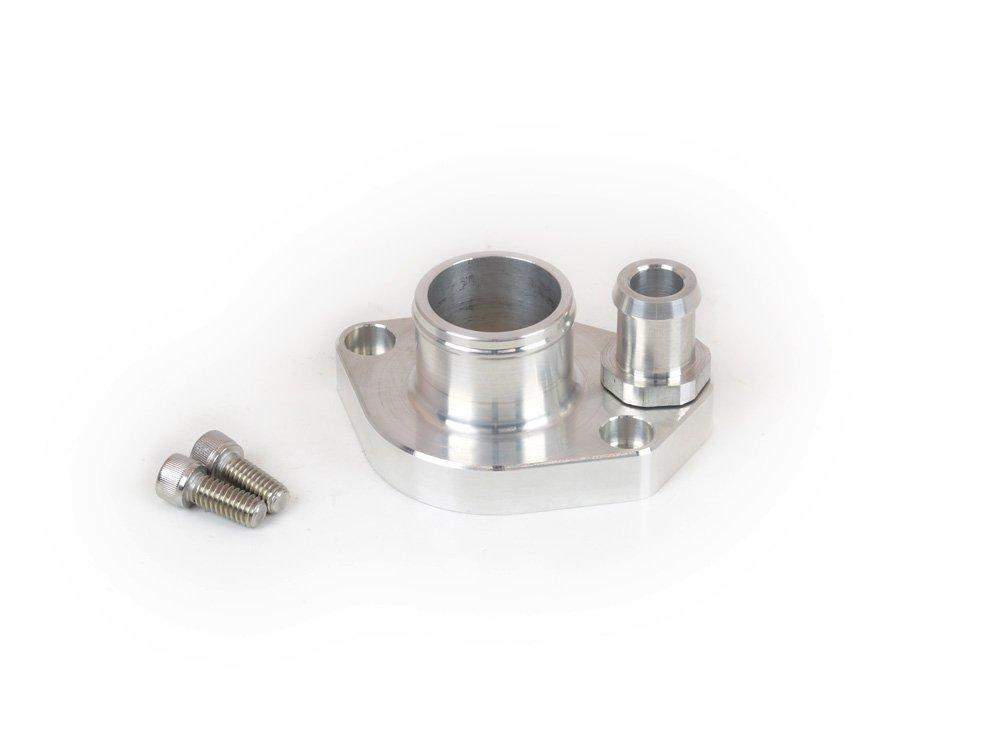 Canton Racing Products 80-026 Billet Aluminum Straight Water Neck (302 and 351W 1.5'' Hose) by Canton Racing Products