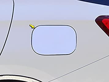 QAA fits 2016-2020 Chevrolet Malibu 1 Piece Stainless Gas Door Cover Trim GC56105