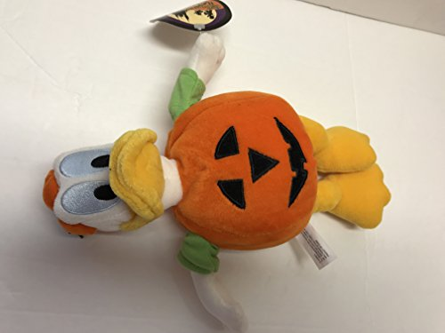 Donald in Pumpkin Costume Mickey's Not so Scary Halloween Party 2002 Plush
