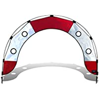 Premier RC Pro Fly Under Race Arch for Drone Racing - Red and White