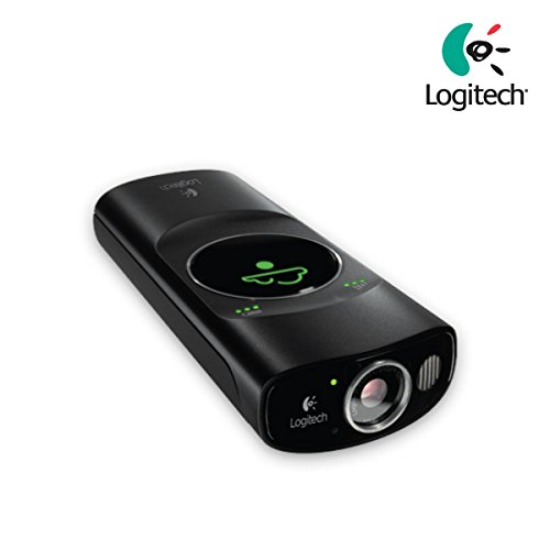 Logitech Broadcaster Wifi Webcam 960-000857 for Mac, iPad and iPhone, Australian version with English manual and US adapter