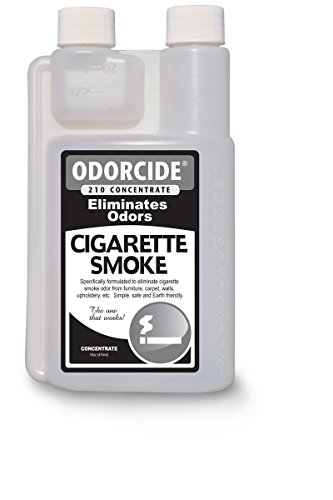 Odorcide 210 - Cigarette Smoke Odor Remover - Concentrate - 1 Pint - Concentrate Moisture
