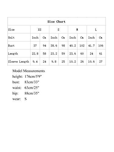 MakeMeChic-Womens-Waved-Print-Trim-Short-Sleeve-Summer-T-shirt-Tops-Blouse