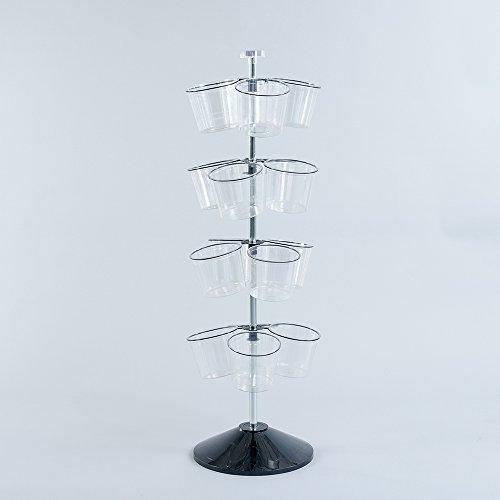 Bucket Tree Floor Spinner Display