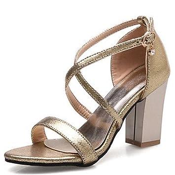 Robusto Oficina Club Zapatos Y Nvxzd Sandalias Mujer Tacón Del Ny08vnwmO