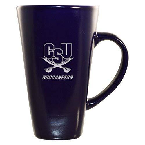 (Charleston Southern University -16 oz. Tall Ceramic Coffee Mug-Blue)
