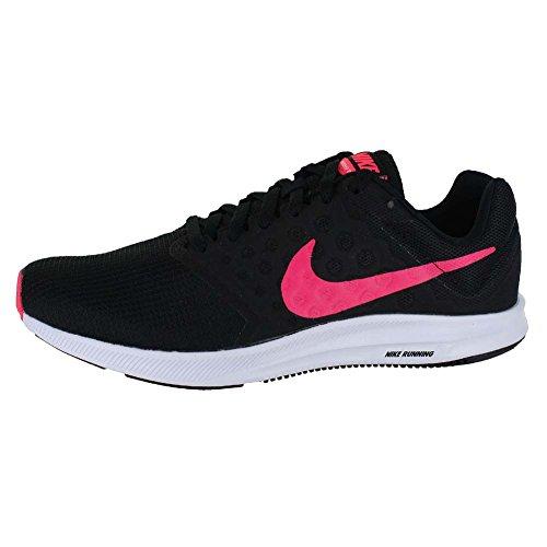 De Pink 7 Downshifter White Running Racer Chaussures Wmns Femme Nike Black UISqw4pE