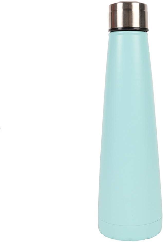 Botella de agua de metal triangular 400 ml