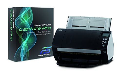 Fujitsu fi-7160 Deluxe Bundle document scanner plus PaperStream Capture Pro scanning software (CG01000-286401)