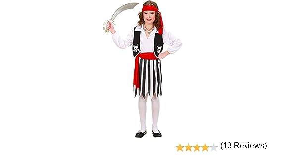 WIDMANN Widman - Disfraz de pirata para niña, talla 11-13 años ...