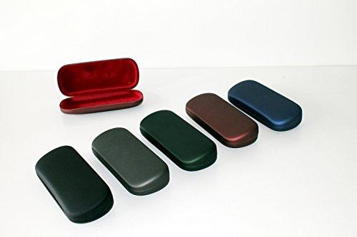 5 Stück Brillenetui Hartschalenetui Hardcase -erhältlich in verschiedenen Farben-