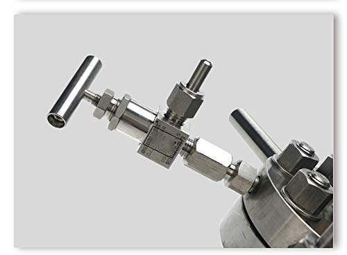 BAOSHISHAN 500ml Hydrothermal Synthesis Autoclave Reactor 16Mpa 300C with 316 Stainless Steel Lining Customized (500ml) by BAOSHISHAN (Image #3)
