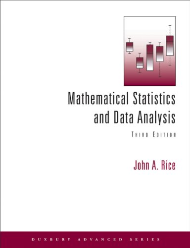 Mathematical Statistics and Data Analysis (Available 2010 Titles Enhanced Web Assign) Pdf
