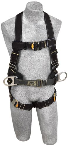 (DBI/Sala 1110803 Delta II Arc Flash Full Body Harness, Black, Small)