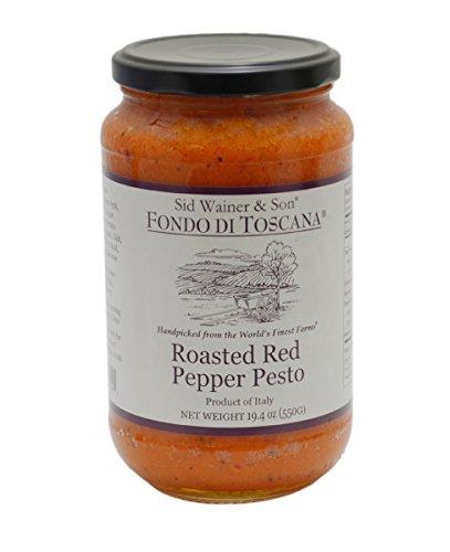Fondo di Toscana Roasted Red Pepper Pesto, 19.4 Ounce