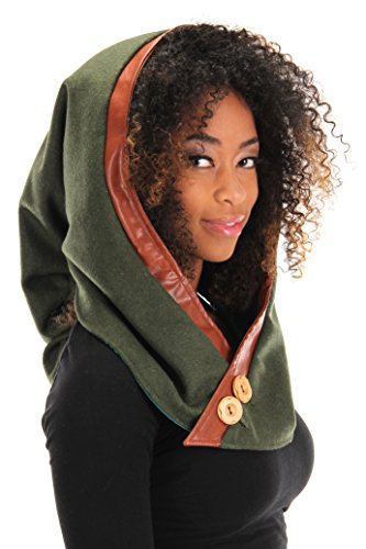 elope Woodland Elf Costume Hood for Women and - Wood Elf Costume