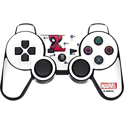 Skinit Baby Deadpool PS3 Dual Shock Wireless Controller Skin - Officially Licensed Marvel/Disney Gaming Decal - Ultra Thin, Lightweight Vinyl Decal - Deadpool Game Ps3
