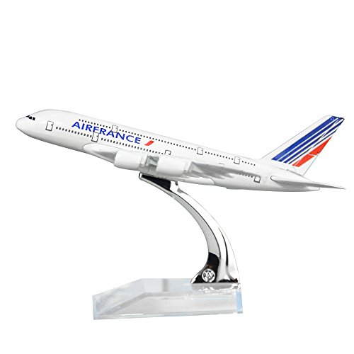 Air France A380 Solid Alloy Metal Model Airplane Models