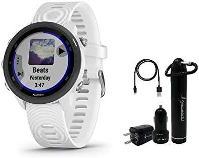 Garmin Forerunner 245 Gps Lauf Smartwatch Inkl Wearable4u Power Pack Bundle Sport Freizeit