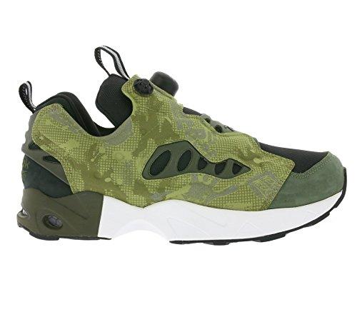 Reebok Instapump Fury Road CS Mens Running Trainers Sneakers Grün V67462 ZZfeNNTQjH