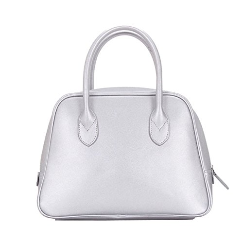 Shoulder Handbag Silver Capacity Fashion Package Female Large 5pwn0qS