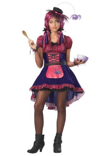 California Costumes Along Came a Spider Tween Costume,