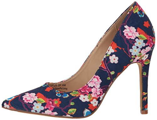 4f802cb2cfe Penny Loves Kenny Women's Opus SF Pump, Blue Floral, 11 Wide US