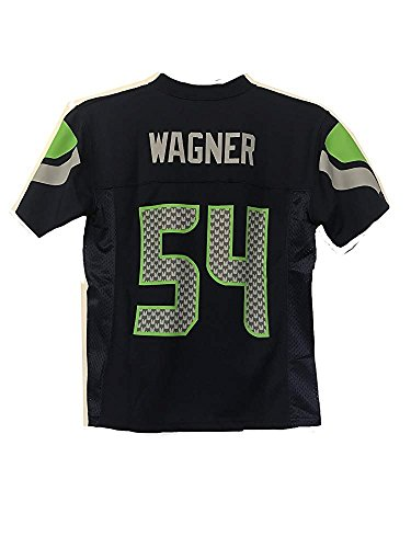 (Bobby Wagner Seattle Seahawks NFL Youth Navy Home Mid-Tier Jersey (Youth Small 8))