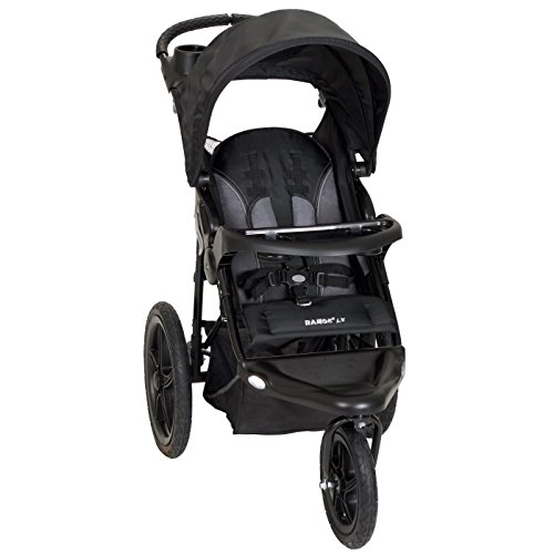 Black Baby Stroller Travel System - 9
