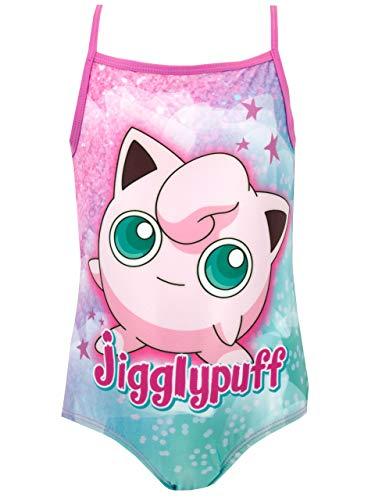 Pokemon Girls Jigglypuff Swimsuit Size 6 Pink]()
