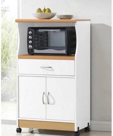 Microwave Stand Expert Guide Provides Compact Kitchen Storage for a Wide Range of Items White Can be Used Both as a Cabinet Space as Well as Microwave Storage